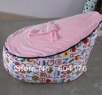 pattern base baby seat/wholesale baby bed/bean bag/baby bean bag P072848