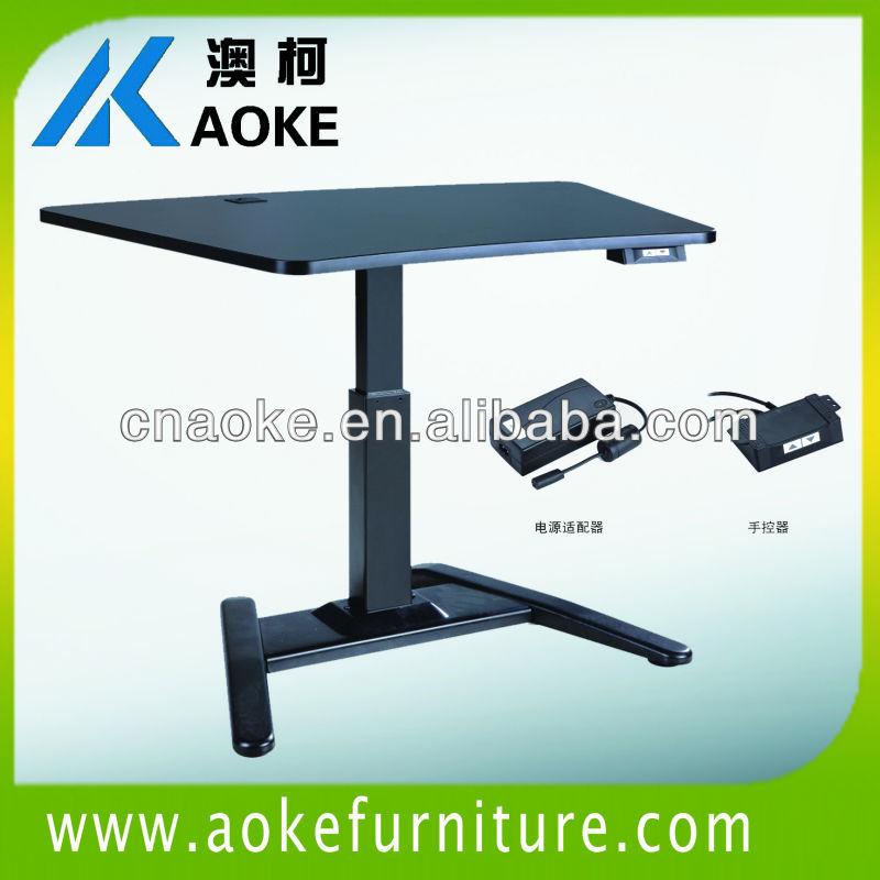 single leg height adjustable tea table(China (Mainland))
