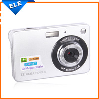 Cheap Price New Mini 2.4 inch TFT LCD Screen Digital Camera 12MP 4X Digital Zoom Retail/Wholesale