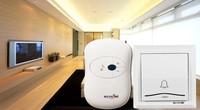 1 Doorbell +1 Remote Controller Waterproof 200m work wireless doorbell,wireless door chime,wireless bell, 36 melodies door bell