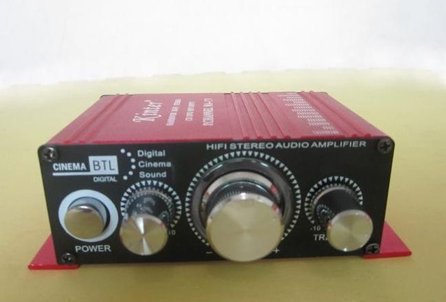 Portable 12V 2 channel Hi-Fi MA170 Stereo Amplifier For Car Boat Radio mp3 iPod(China (Mainland))