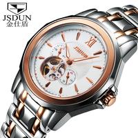 Watch fully-automatic mechanical watch tourbillon mens watch fashion waterproof male watch  8011