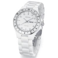 Aesop watch white ceramic waterproof quartz watch waterproof watches women's fashion women fashion watch