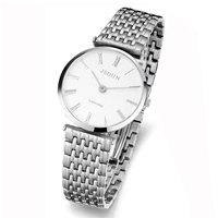 Watch ultra-thin quartz watch male watch fashion waterproof fashion watch vintage table  8695