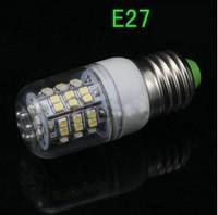 free shipping small size  5pcs/lot  E27 110V Cold white / Warm White 360 Degree 3528   SMD  Lamp Energy Saving 60 chips bulb
