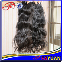 Fayuan hair:Unprocessed 5a human hair, virgin queen hair loose wave natural color cambodian hair extension 3pcs/lot dye free