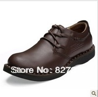Free Shipping 2014 autumn and winter fashion brand men's shoes British stud shoes everyday casual business shoes
