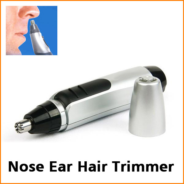 Hot Sell Cheap Electric Nose Ear Face Hair Trimmer Shaver Clipper Cleaner Free Shipping+Dropshiping(China (Mainland))