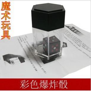 Fraee shipping Magic props magic dice close-up magic props big dice small dice magic set(China (Mainland))