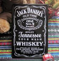 Jack deniel's old no 7 paiting Tin Sign Bar pub home Wall Decor Retro Metal Art Poster E-71 20*30 CM Free Shipping