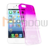 IMAK hard case for Apple iphone 5S with real package and screen protector Free shipping /jane