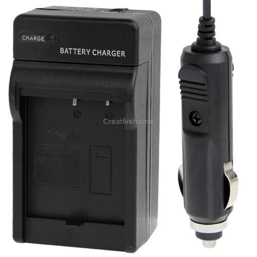 Новое 2 в 1 цифровая фотокамера зарядное устройство для Casio NP-110 / NP-130 2 в 1 цифровая фотокамера зарядное устройство для sony np fv100 бесплатная доставка с отслеживая номером