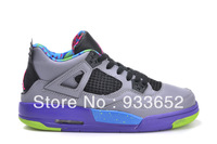 Free shipping 2013 Top New wholesale J4 JD4 JR4 J 4 Retro elite women Athletic Basketball sport training Shoes for sale