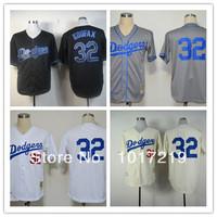 Wholesale Men's Baseball Jerseys Cheap Los Angeles Dodgers #32 Sandy Koufax Jerseys,Embroidery Logos