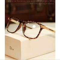 Vintage glasses myopia Women big frame eyeglasses fashion glasses frame quality designer frame for women and men Free shipping