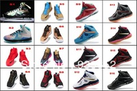 Free shipping 2013 Top New wholesale famous name brand lebrons x 10 Athletic mens Basketball shoes for sale sport training