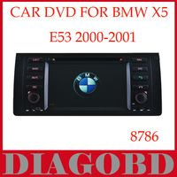 Windows CE Version for BMW E53 2000-2001 Car DVD Player with GPS RDS radio bluetooth car dvd