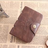 Stylish Men's Leather Wallet Pocket Card Clutch Bifold Black Purse Kardashian  Billeteras Punching Bag Man 1126
