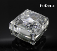 Best price high quantity transparent men's cufflinks boxes gifts box 6 pcs/lot free shipping
