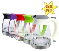 Jk-113 small capacity glass water electric heating kettle blu ray kettle automatic teapot,house appliance