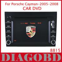 Windows CE Version for Porsche CAYMAN 2005-2008  Car DVD Player with GPS RDS radio bluetooth car dvd