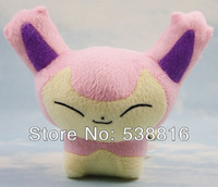 Wholesale and Retail one piece Japanese anime POKEMON plush toy doll 15cm Skitty Gift Free Shipping