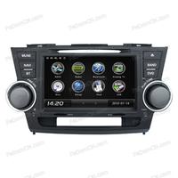in car radio car bluetooth dashboard car dvd player for Toyota Highlander