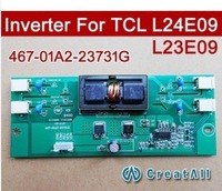 10pcs Free shipping  NEW 467-01A2-23731G 4 CCFL LCD TV inverters For TCL L24E09 L23E09 467-0101-23731G updated version