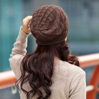 Free Shipping, 2013  Winter Fashion Knit  Lady Women's  Gorro Knitted Hats cap