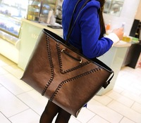 Bags 2013 women's female fashion handbag women's bag genuine leather knitted