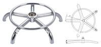 Five star Iron salon stool Chair base  (CB510)