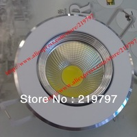 4.3inch COB10W 7W led recessed light dimmable rotated TH43 for shop display windows hotels interior lighting+ 2pc + Free ship