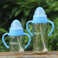 Free shipping Ppsu bottle belt straw handle caliber baby bottle baby supplies