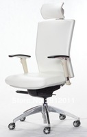 Leather executive chair high back,white,ANSI/BIFMA,full function  Item No:X5GP-1GF19