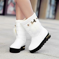 Winter casual boots platform shoes thermal platform snow boots knee-high platform winter snow shoes