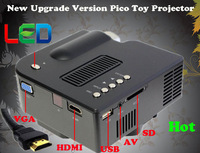 Perfect Gift Cheap Projector for kids watch Carton LED lamp 20000hours portable video projector with HDMI USB SD VGA AV