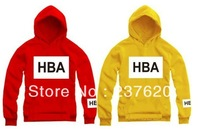 Free shipping Chinese size M--4XL 2013 new arrive Hood By Air HBA PIF printed hoodie clothing Pyrex hood hiphop clothing 5 Color