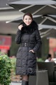 Wnter fashion luxury raccoon fur thickening slim brand(Oilbird ) down parka women 2013 down jacket winter for women/female