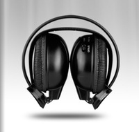 Dual Channel Wireless/Cordless IR Headphones for Car Headrest Monitor and Car Roof Monitor