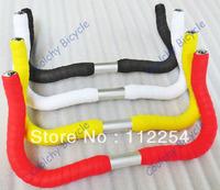 Free Shipping Colorful  Handlebar,Fixed Gear Handlebar,rest handlebar,bend Handle bar