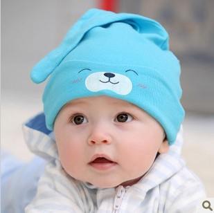 Newborn  Baby  Girls Font B  Boys B Font  Cute  Cotton  Sleep Font B  Hat B Font