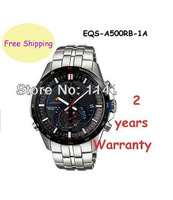 New Chronograph Men's Quartz Movement Watch EQS-A500RB-1AV EQS-A500RB-1A EQS A500RB