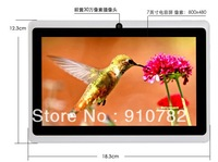 "q88 dual camera good 7"" Allwinner A13 Q88 tablet pc android 4.0 1.2GHz RAM DDR3 512MB ROM 4GB Dual Camera Freeshipping"
