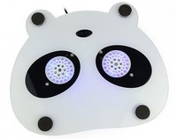 Holiday Sale! Mini USB 2-Fan Panda Laptop Notebook Fan Cooler Cooling Pad Free Shipping 1342