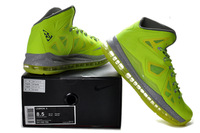 Sale Brand Named basketball shoes men Lebron X High quality basketball shoe  Lebron 10