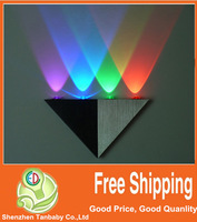 Free shipping 5W led Triangle wall lamp high power led wall lamp light / modern wall lamp / lamps for home decoration led light