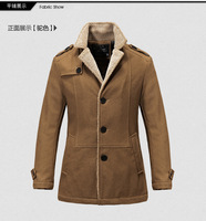 2013 free shipping new explosion models 45% wool cashmere coat Wholesale British style men's suit collar woolen coat