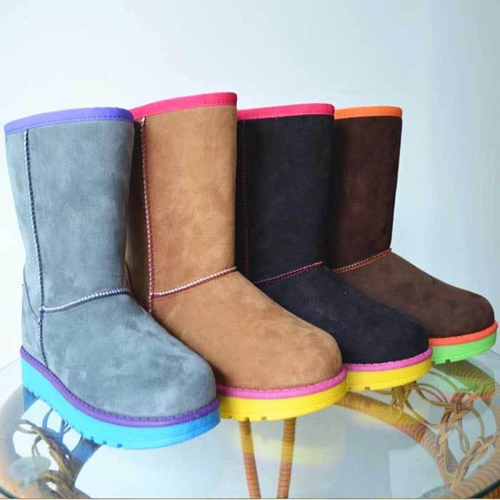 Потребительские товары 2014! Women's Snow Boots For Ladies Winter Autumn High Quality Fashion New Style | 585