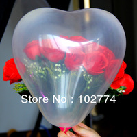 12-inch heart-shaped balloons balls balls can DIY holiday party essential wedding decoration