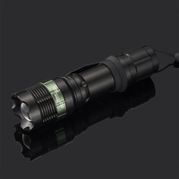 Mechanical focusers q5 cree led flashlight aluminum alloy mini flashlight zoom flashlight